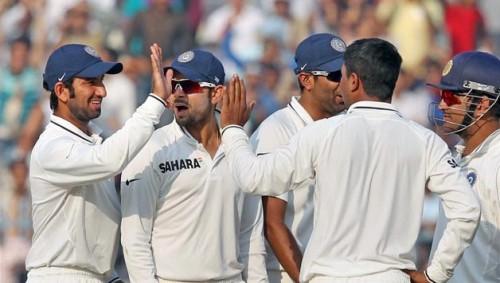 Indian Test Team photo