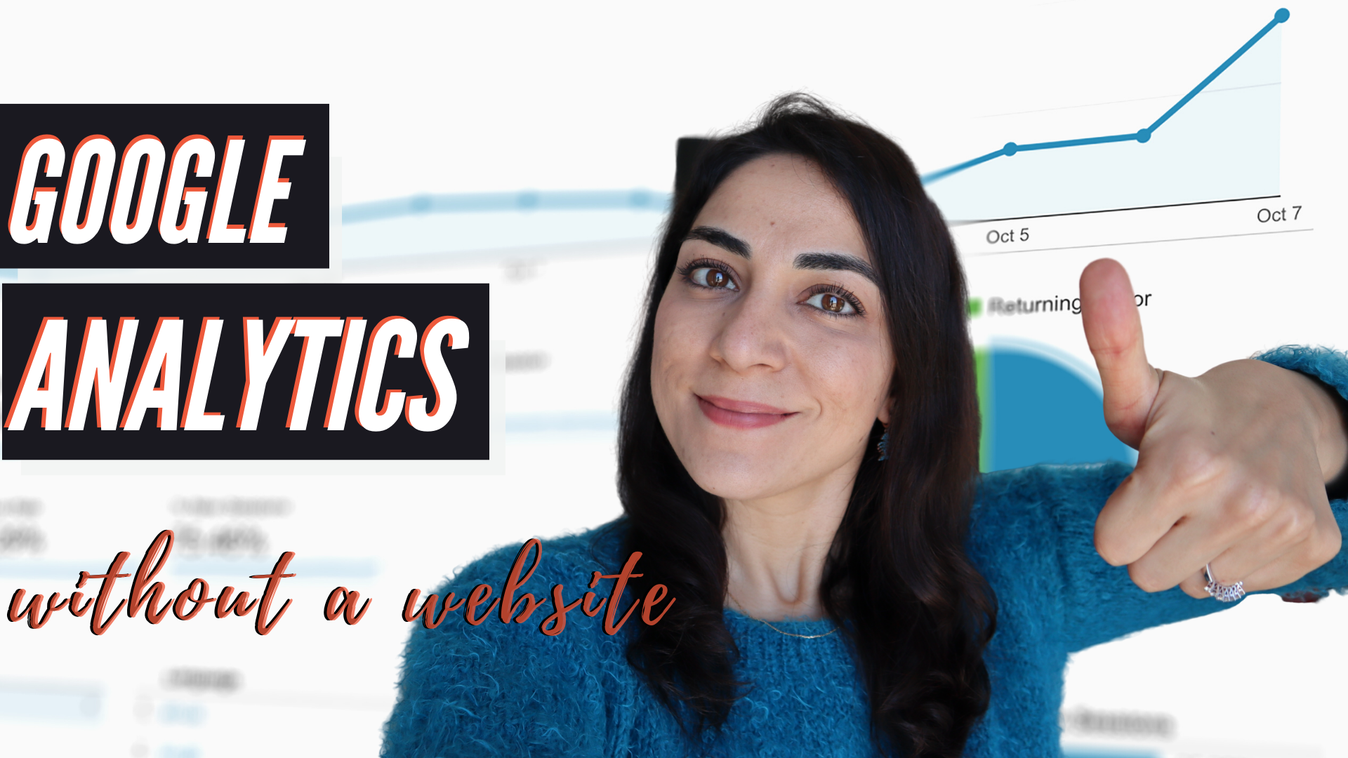 How To Learn Google Analytics [Without Having A Website]