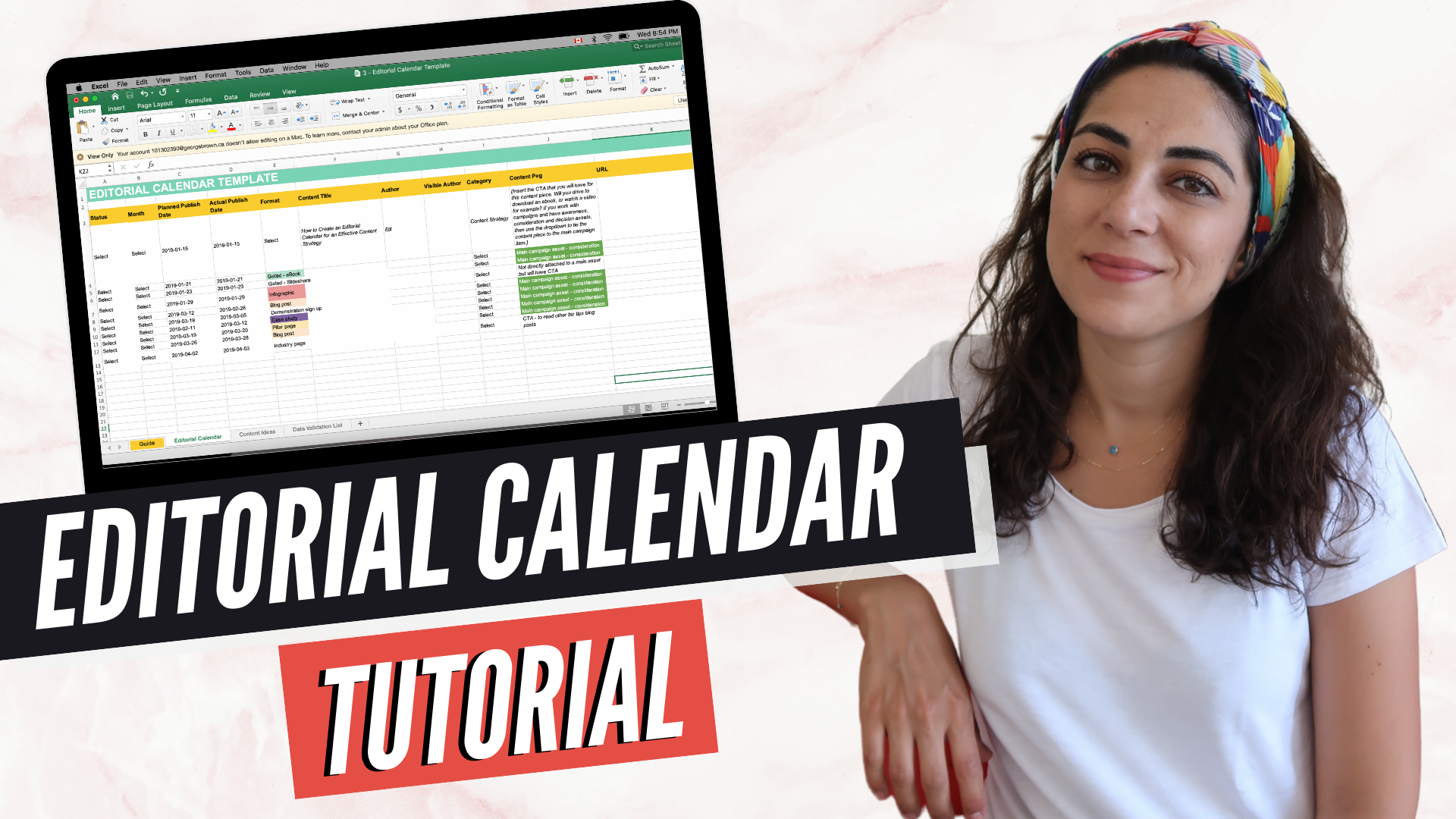 How to Use An Editorial Calendar for An Effective Content Strategy - Elif Hiz