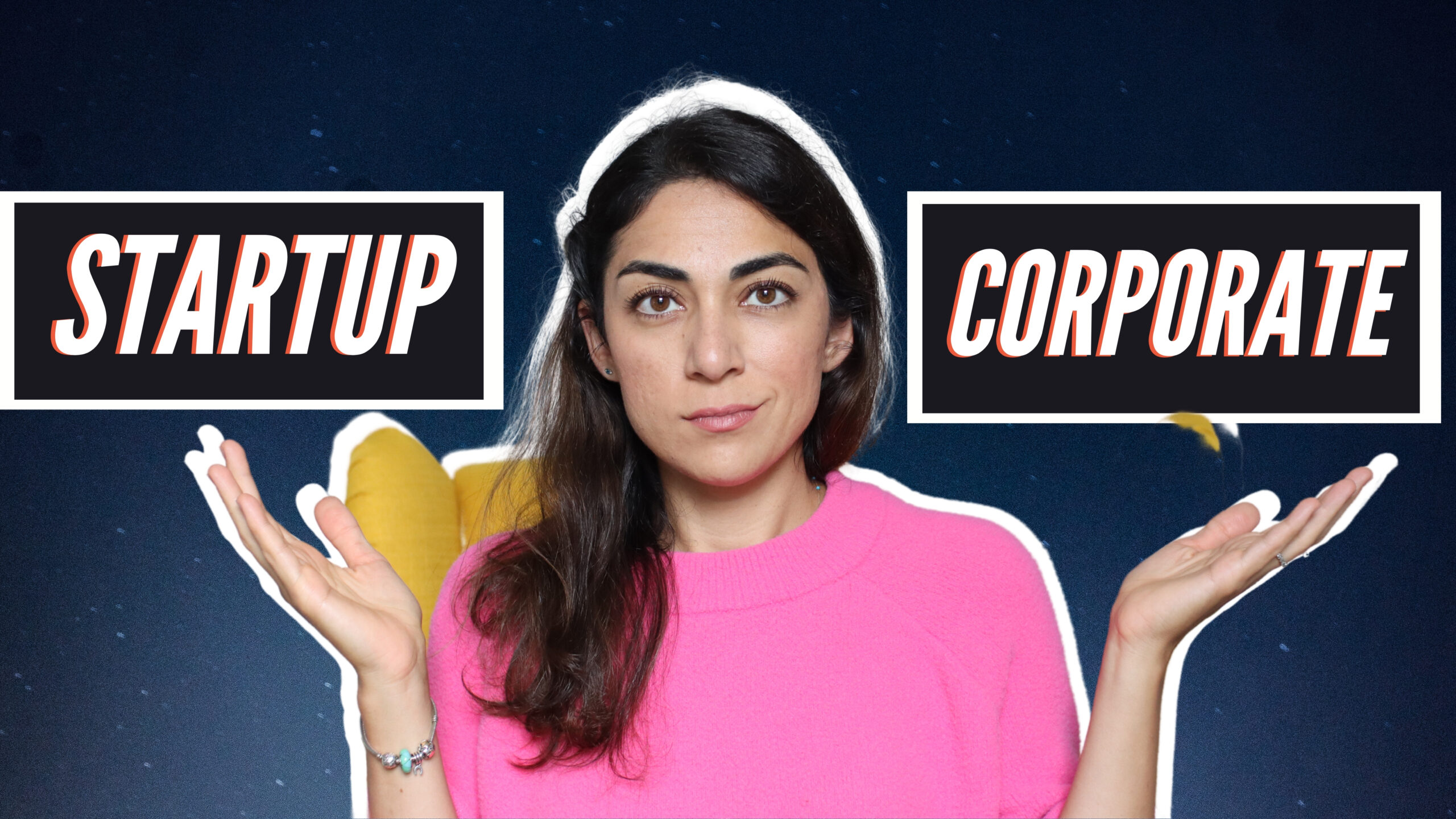 Startup vs. Corporate – which is better for a successful marketing career