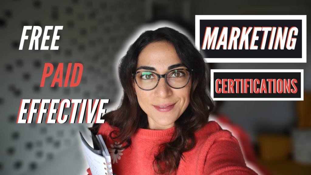 Top Marketing Certifications Worth Your Time and Money