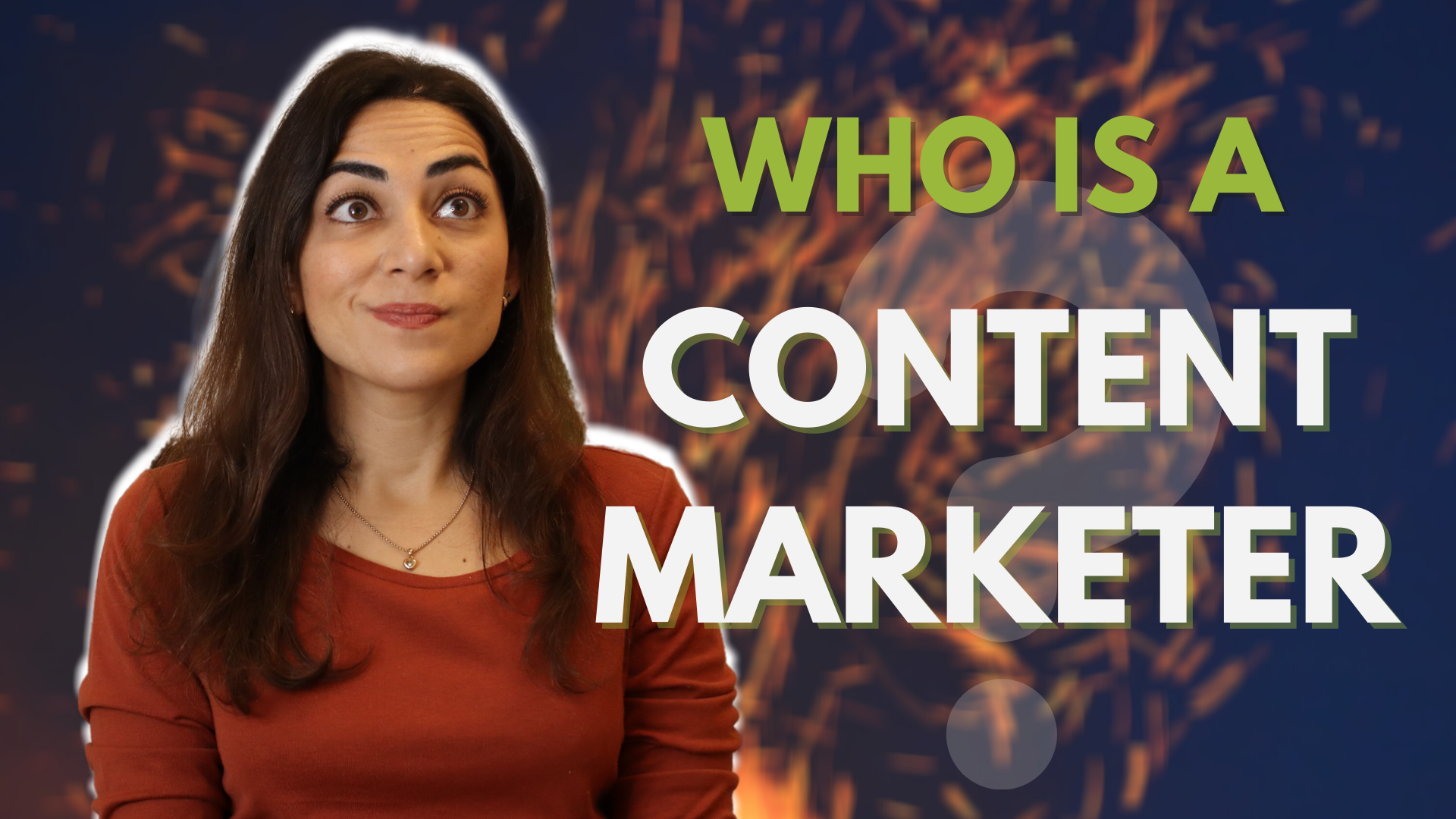 What Does a CONTENT MARKETING MANAGER? - Elif Hiz