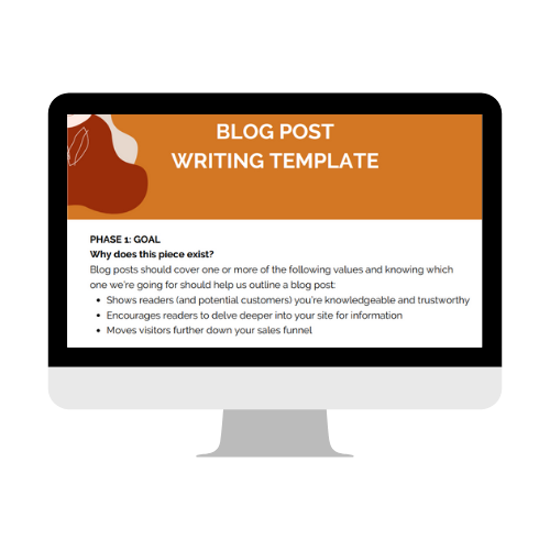 Elif Hiz Blog Post Writing template download