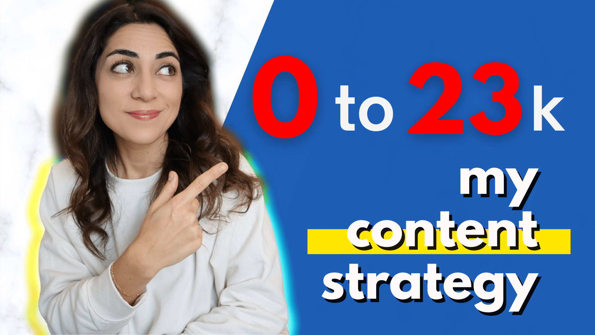 0 to 23K My Content Strategy