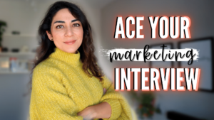 Ace your marketing interview