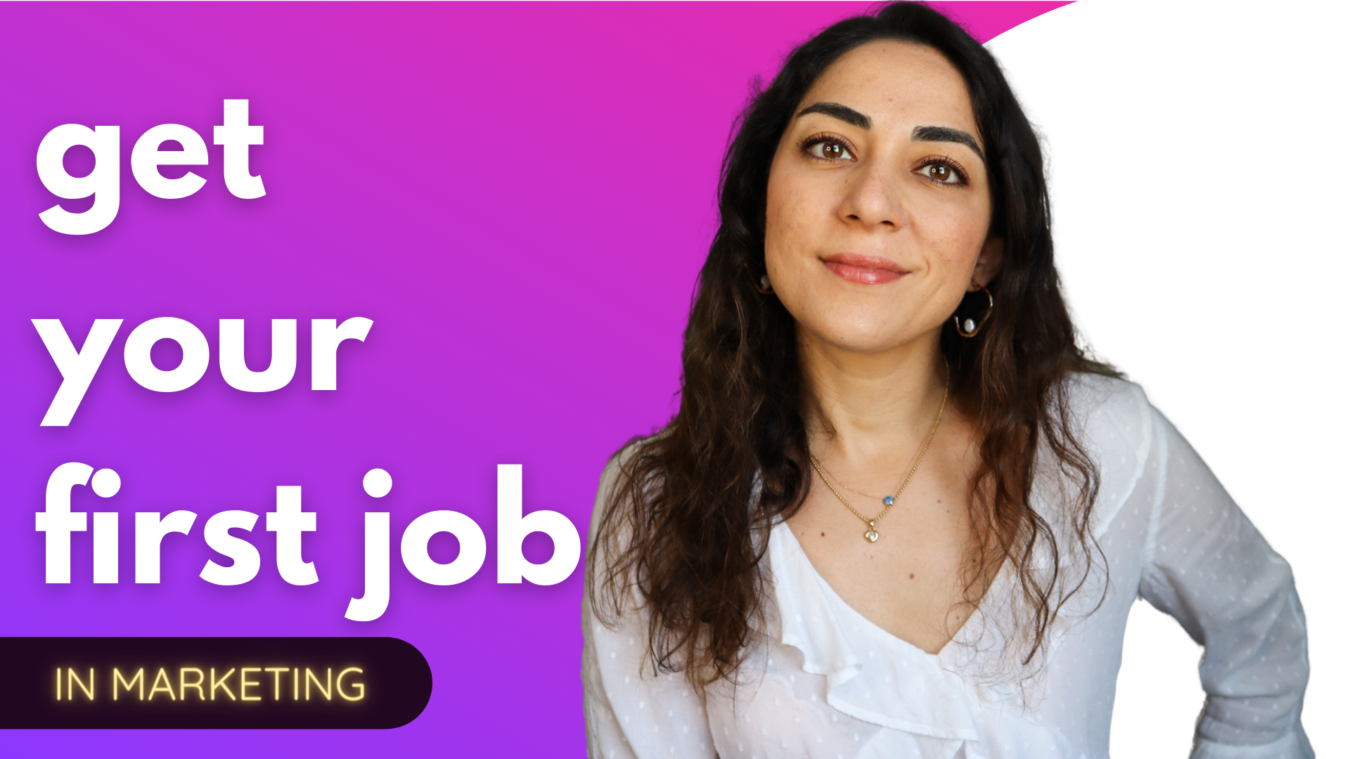 How You Can Find Your First Marketing Job