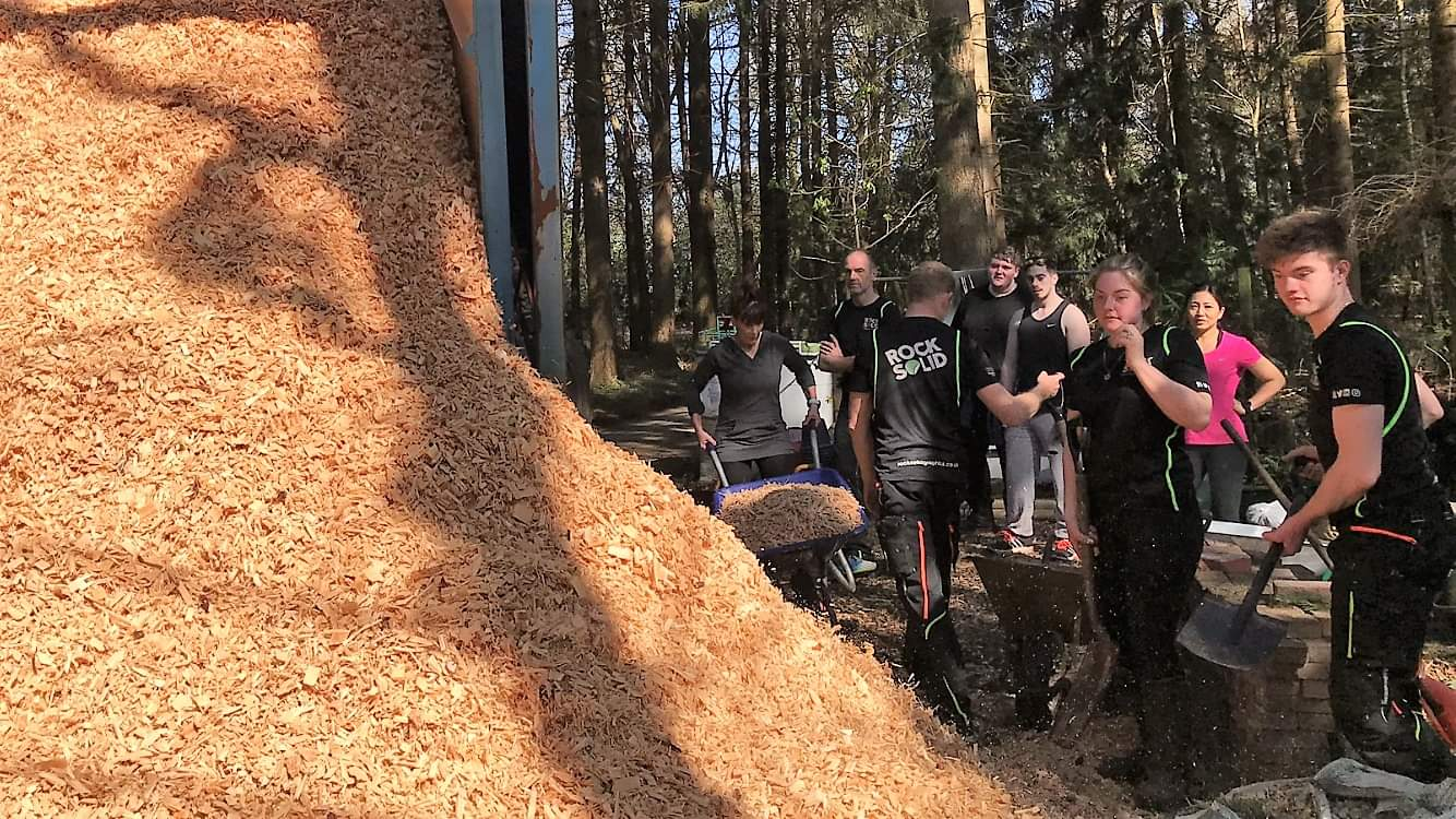 Wood chipping Day
