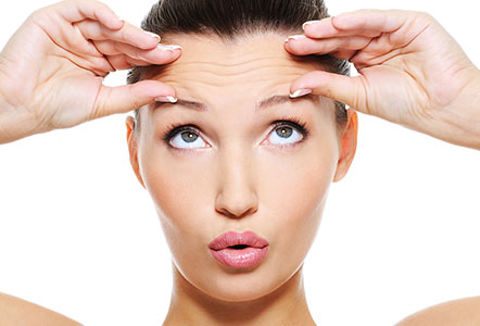 Botox brow lift Cheshire