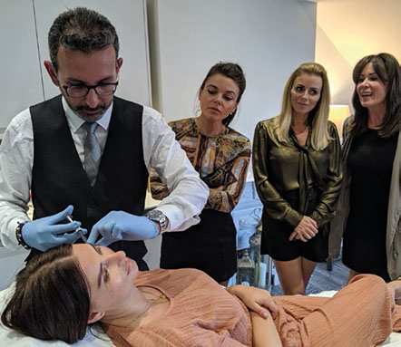 Training at Dr A Aesthetics