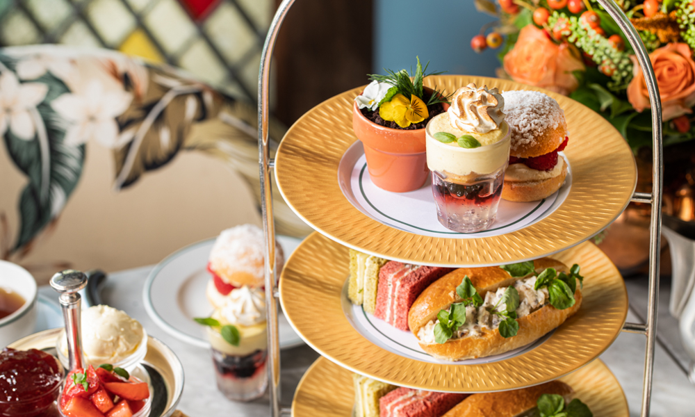 afternoon tea at the ivy clifton