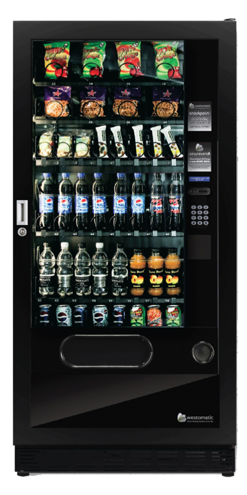 Quattro Max snack and drinks vending machine