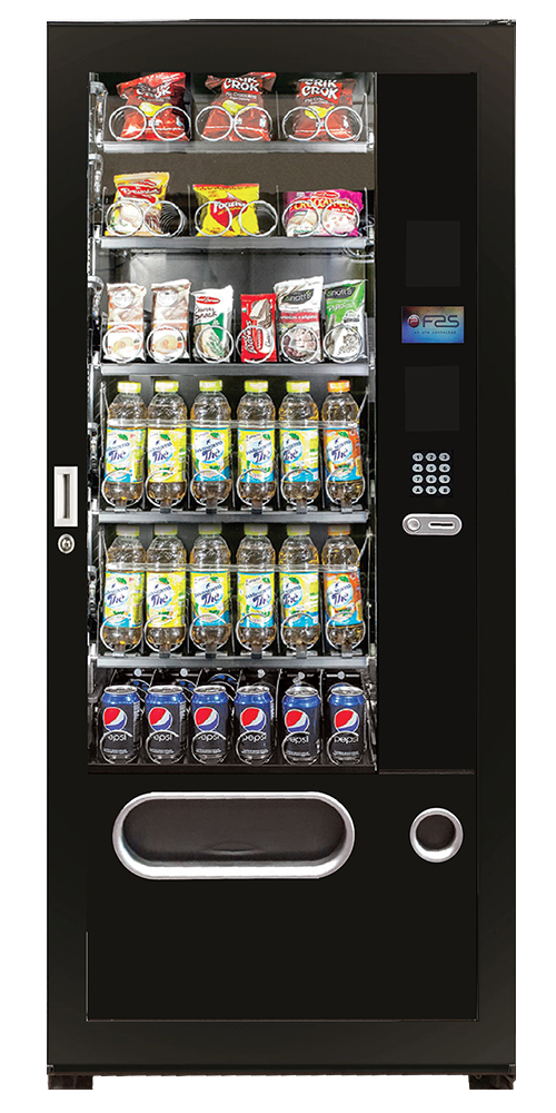 Trio snack and drinks vending machine