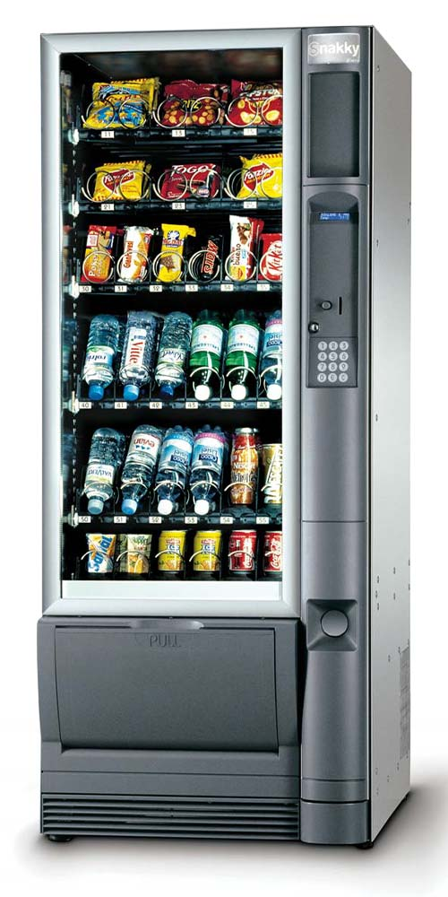 snakky snack and cold drinks machine