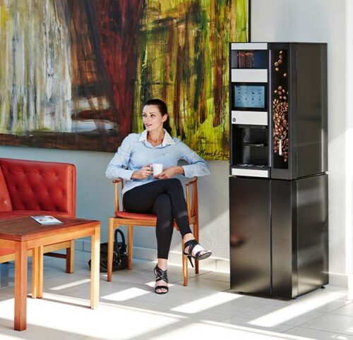 wittenborg-ES9100-table-top-coffee-machine-with-base-unit-in-location