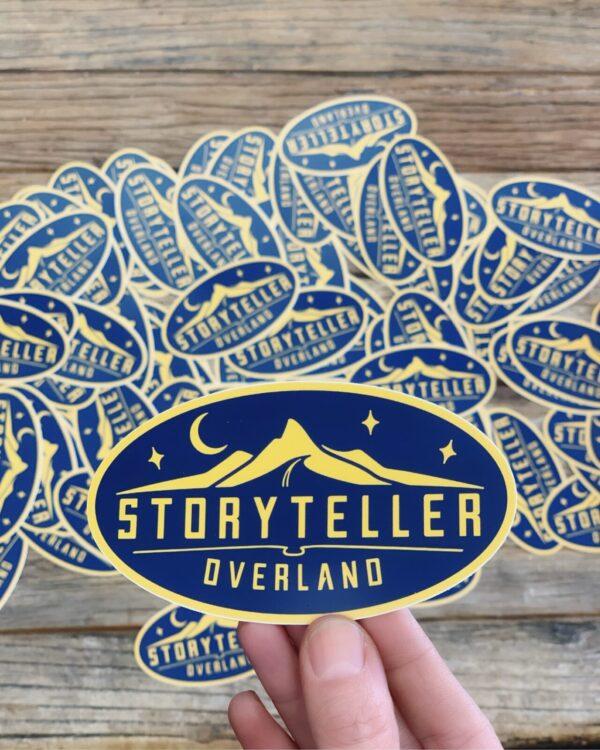 Storyteller Overland Sticker