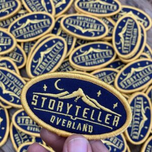 Storyteller Overland patch