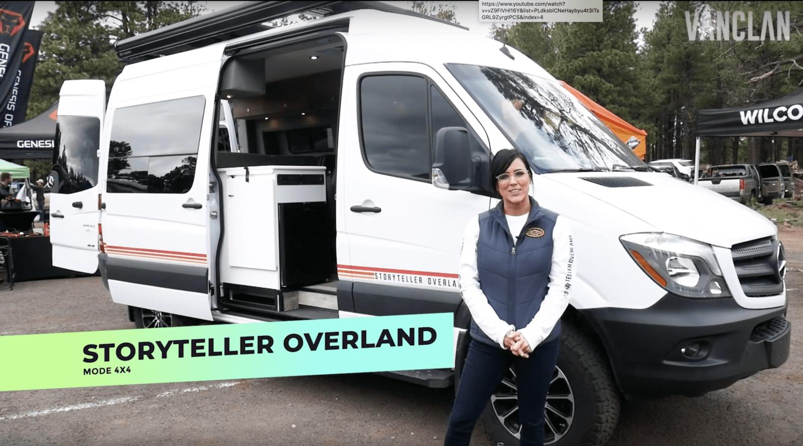Storyteller Overland Van Clan Tour