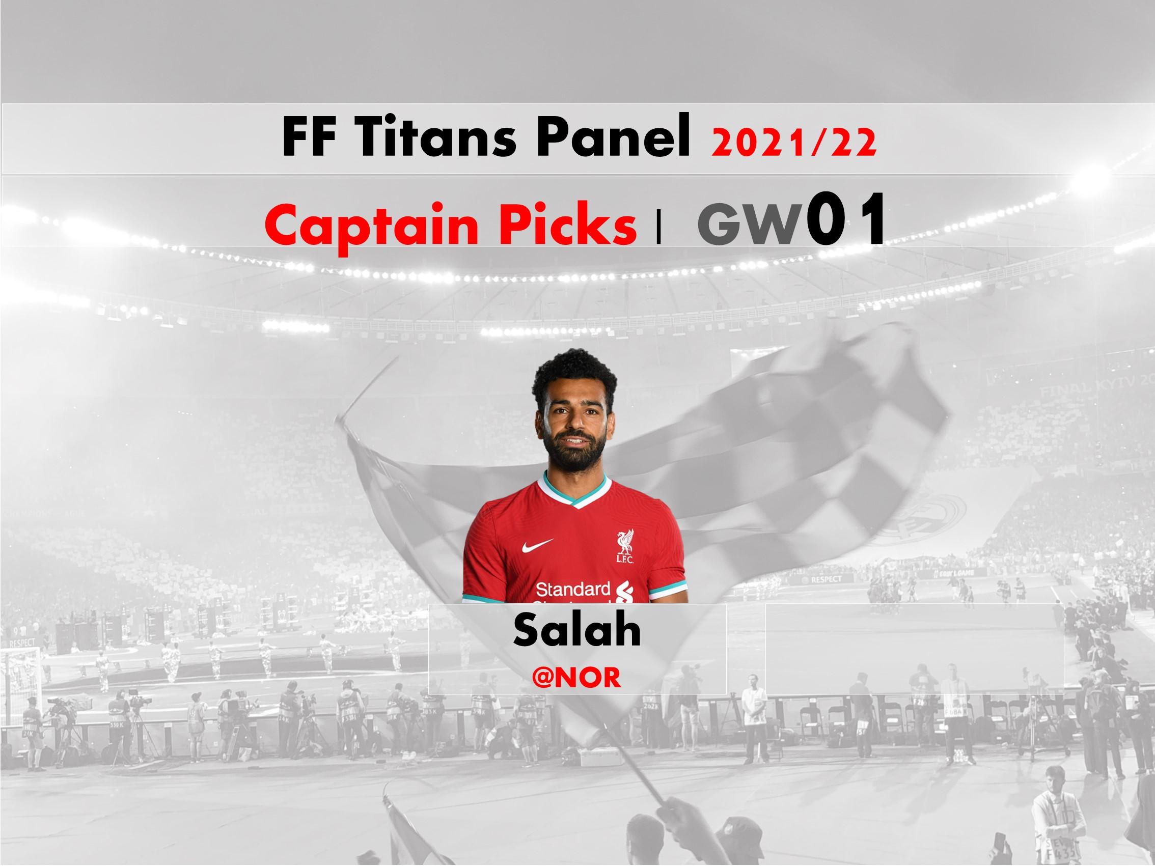 FPL GW01 Captain Picks