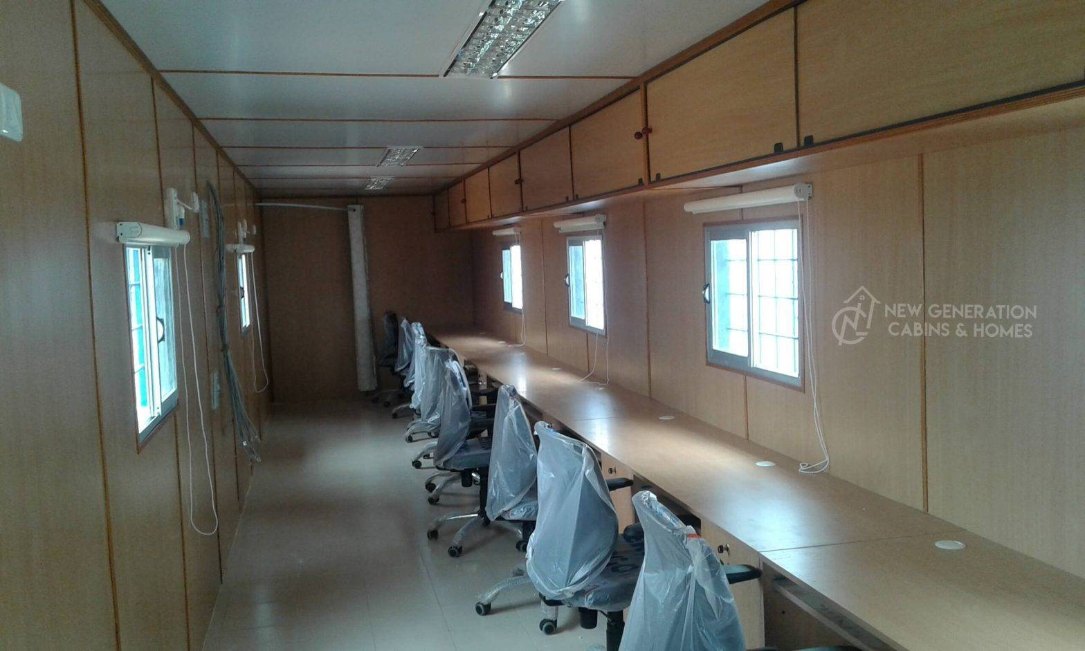 Classy interior Container Office