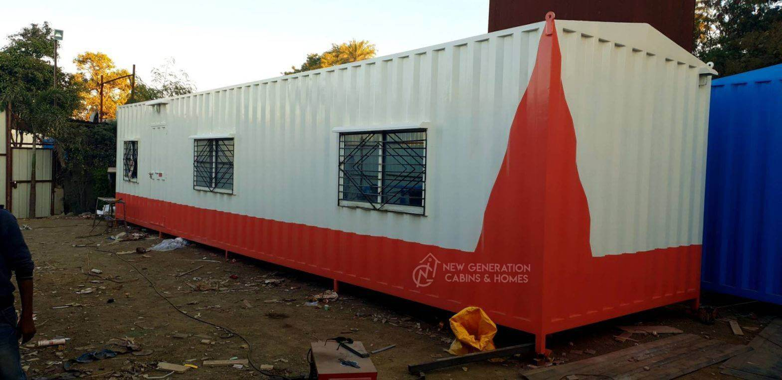 Exterior look Container Office