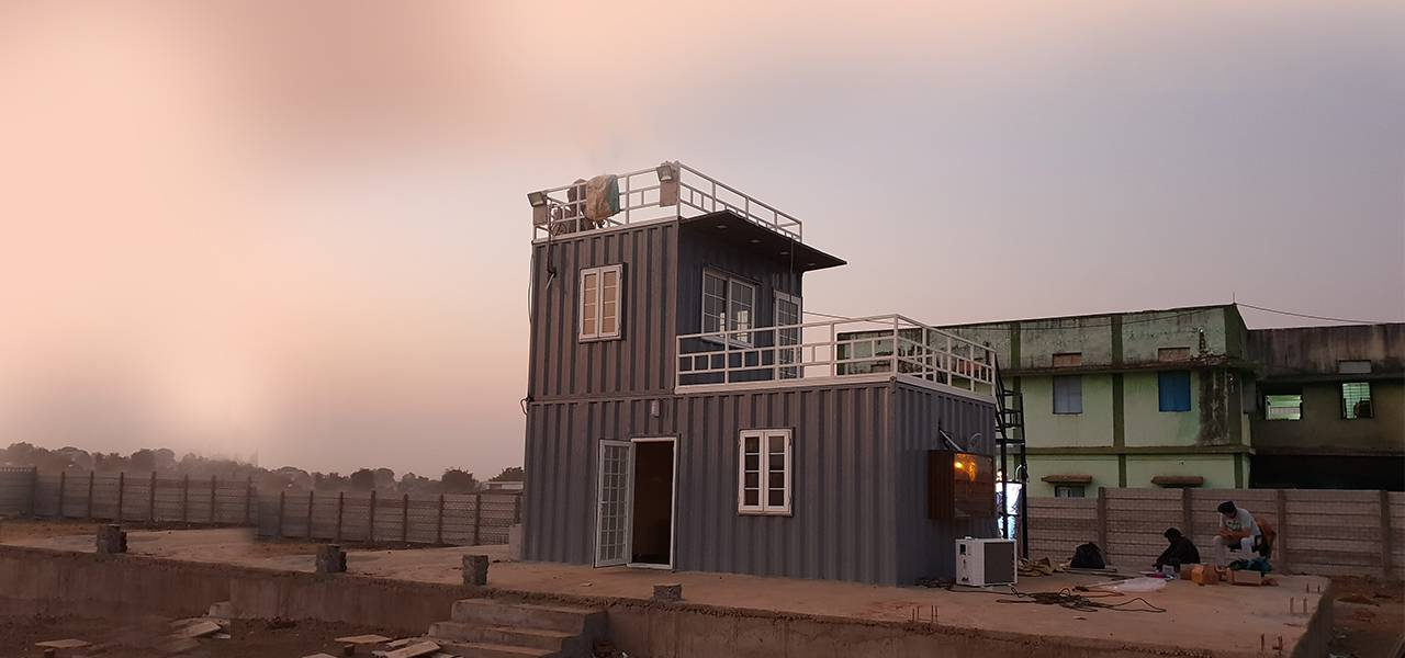 Exterior Container Cafe
