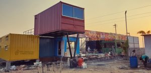 Highway Container Restaurant- New Generation Cabin & Homes