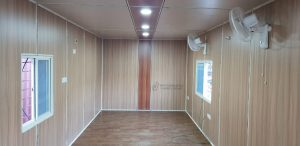 wooden interior container office