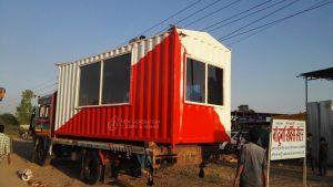 Porta Cabin Loading on truck