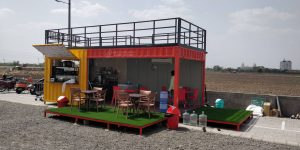 Portable Container Cafe