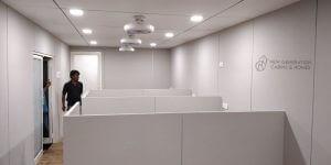Interior design of cabin office