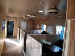 Cabin Office Interior Look
