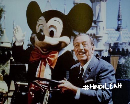 Walt Disney biography in hindi