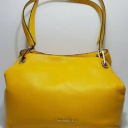 Michael Kors Raven Tote Bag, Large in Sunflower Yellow