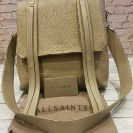 AllSaints Backpack, gorgeous designer in Grey