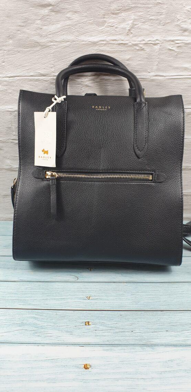 Radley Arlington backpack Black Leather