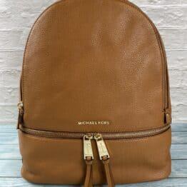 Michael Kors Rhea Backpack in Acorn