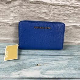Michael Kors small jet set zip around purse