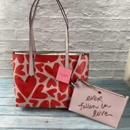 Kate Spade, Molly ever fallen Small tote bag in Tutu pink