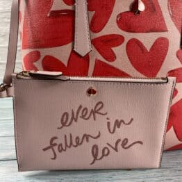 Kate Spade Small Molly ever fallen Tote bag in tutu pink