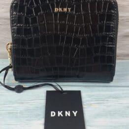 DKNY Croc Embossed Bryan wallet/purse