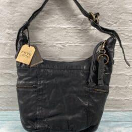 Frye Jolie Hobo Bag in Black