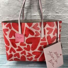 Kate Spade Molly Ever fallen Large tote in tutu pink.