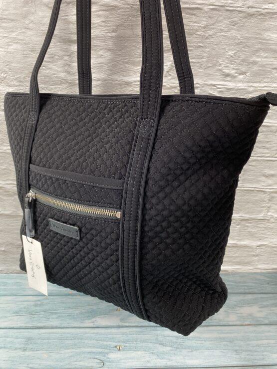Vera Bradley Iconic small tote bag in classic black