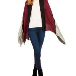 Calvin Klein Chanmbray colour block scarf
