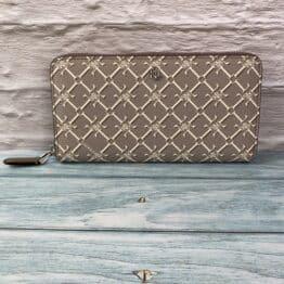 LAUREN Ralph Lauren logo Print collins vegan leather purse