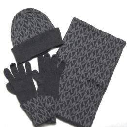Black Grey Michael Kors winter gift set
