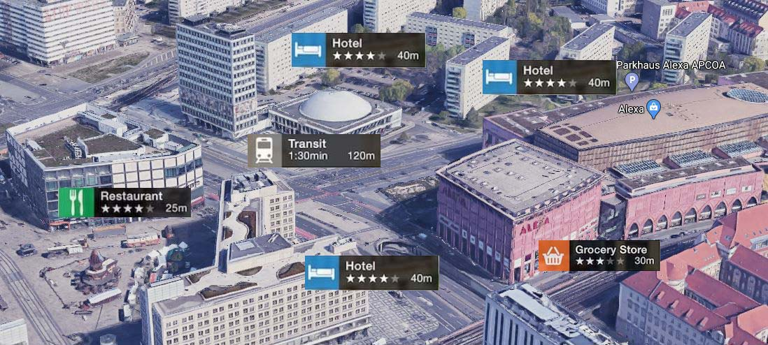 3d Map GIS service