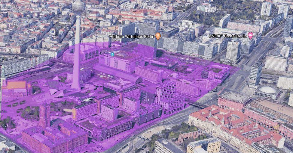 Alexanderplatz, Berlin | 3D cities Service