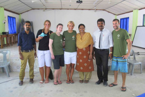 Olive Ridley Project with Thuladhoo school officials