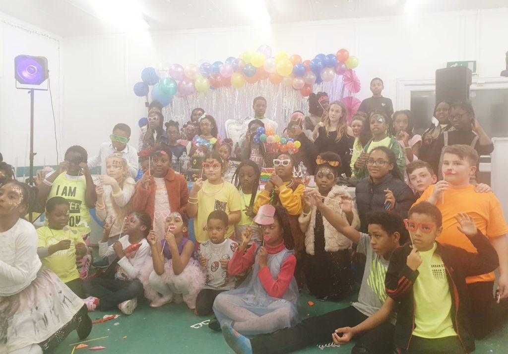 Children's Glow in the Dark party